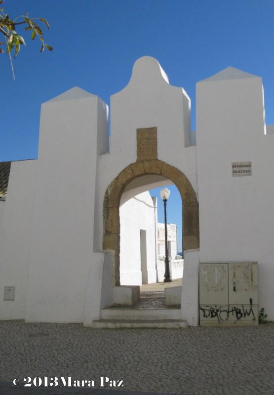 Fort at Armação de Pera, Algarve