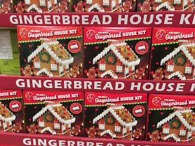 Create a Treat Pre-Built Gingerbread House Kit: perfect for the holidays