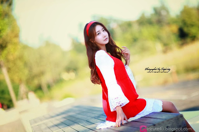 5 Park Hyun Sun outdoor - very cute asian girl-girlcute4u.blogspot.com