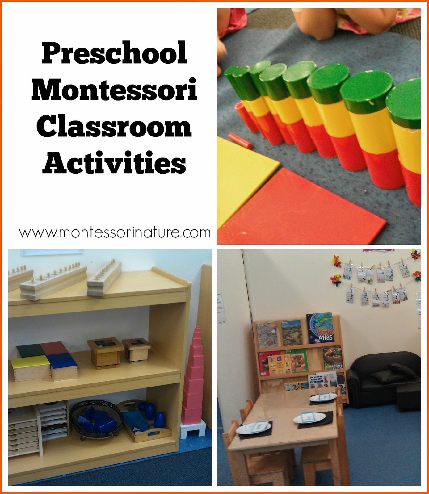 Classroom Ideas And Activities : Preschool montessori classroom activities nature