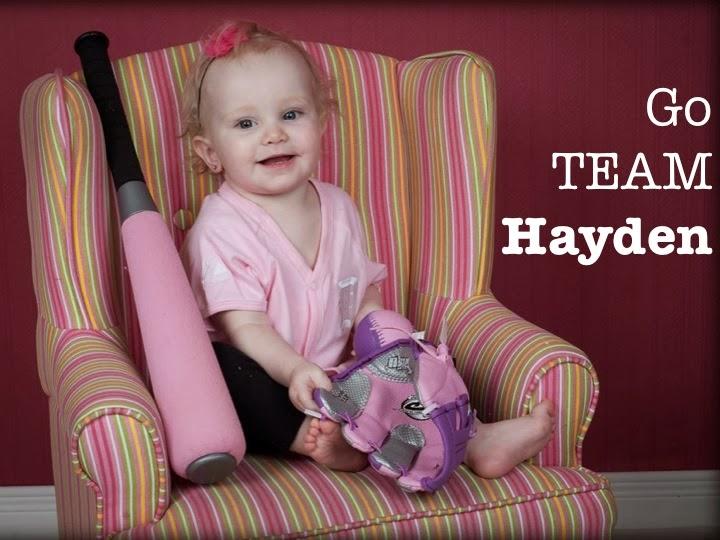 Go TEAM Hayden