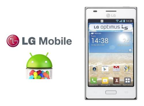 Iniziato l'aggiornamento alla versione 4.1.2 Android Jelly Bean per lo smartphone Lg Optimus L5 Vodafone