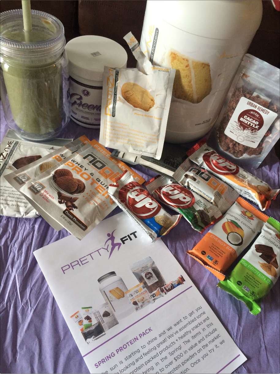 Vmfitness I M Pretty Fit Spring Protein Pack And Quest