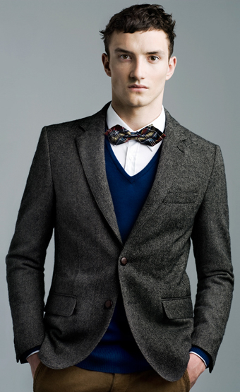 Zara blazer hombre invierno 2012