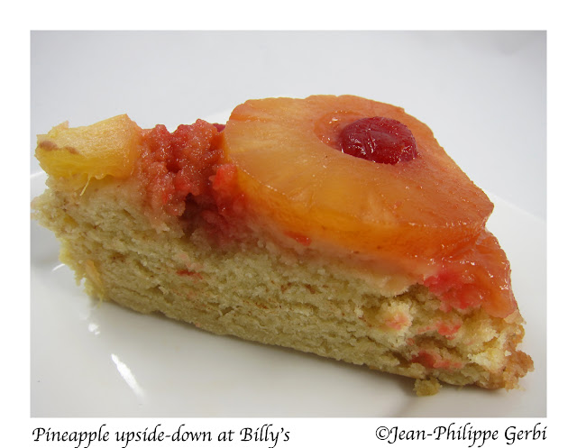 Image of Pineapple upside-down cake at Billy's in NYC, New York