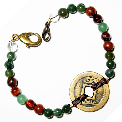Attraction Bracelet with Coin