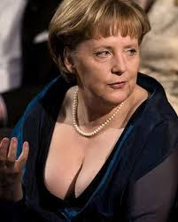 Angela Merkel tetas