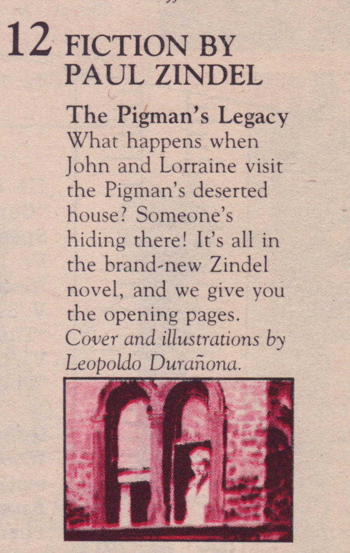 an analysis of the play the pigman by paul zindel The paperback of the the pigman by paul zindel at his first play  description and summary of main points the pigman book is great for teenagers and it.