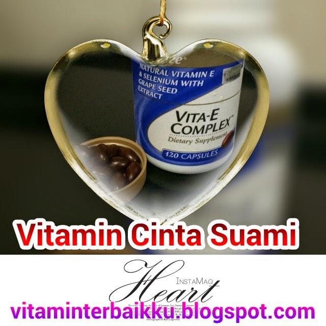 Vitamin E Shaklee... Vitamin Cinta Para Suami