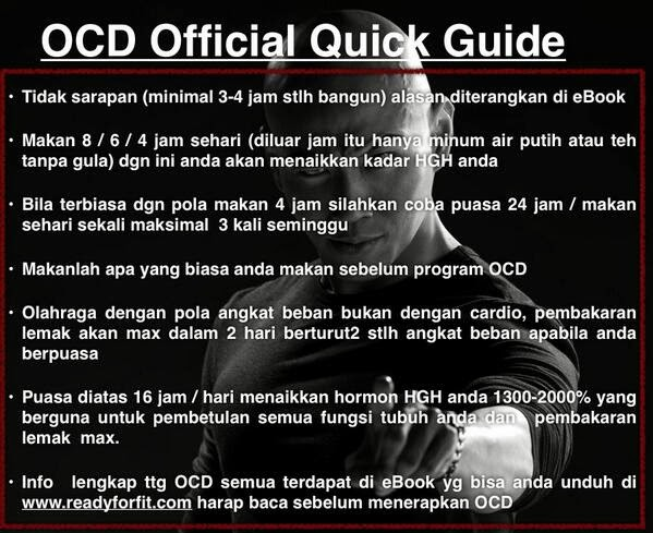 E-Book OCD Diet Ala Deddy Corbuzier