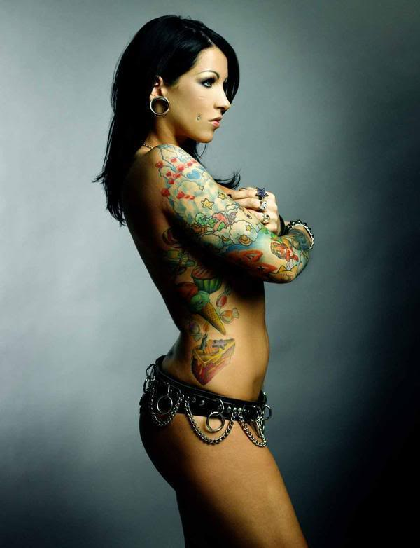 Mixfashion hot tattoos for women for Hot tattoo chics