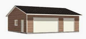 SUV Garage Plan 1080-1 by Behm Design