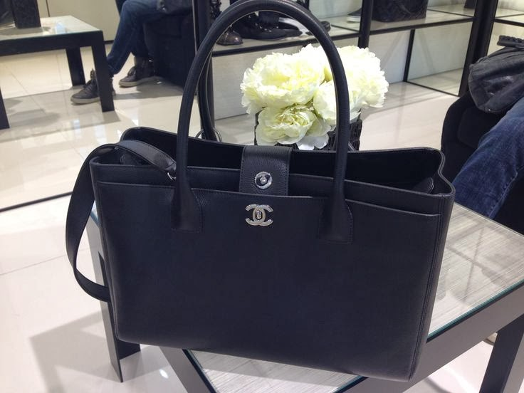Chanel cerf tote bag