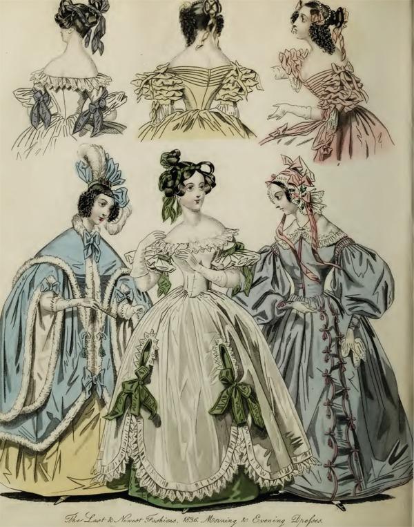 romantic era clothing romantic era fashion plate april
