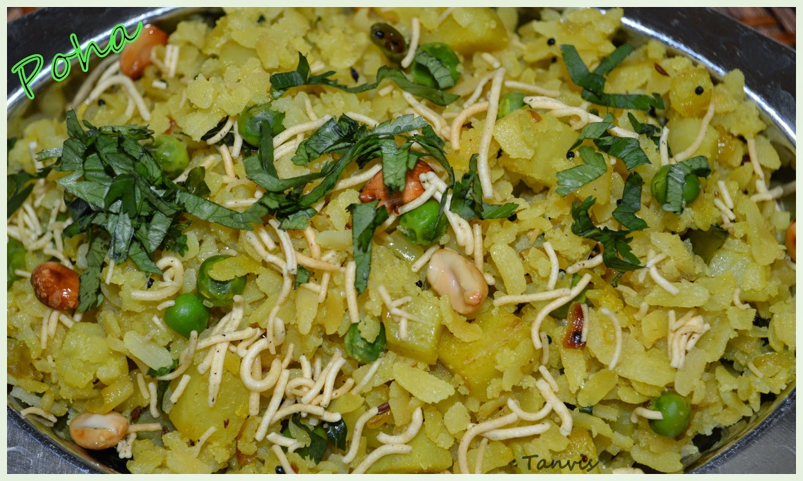 how to make poha recipe