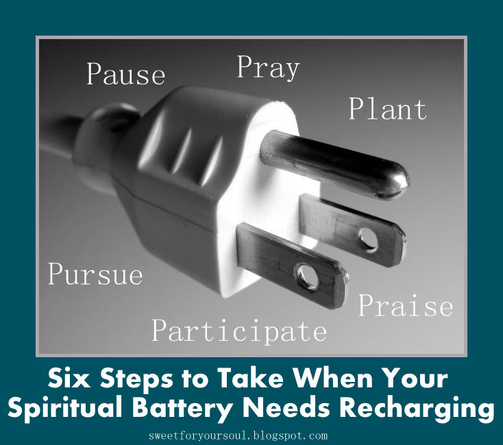 Before we could fix our hit-and-miss DVD we had to stop the playback. Before you fill up your caru0027s gas tank you have to turn off the engine.  sc 1 st  Sweet For Your Soul - blogger & Sweet For Your Soul: What To Do When Your Spiritual