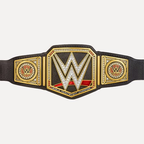 WWE Network championship 2014 belt side plates