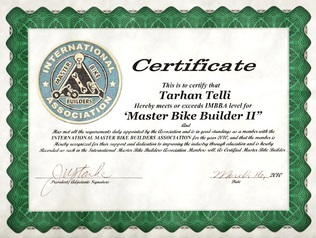 "471683 336272833114092 1113825221 o TT became a ""Master Bike Builder"" two years ago..."