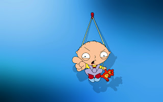 Funny Stewie Griffin Cartoon HD Wallpaper