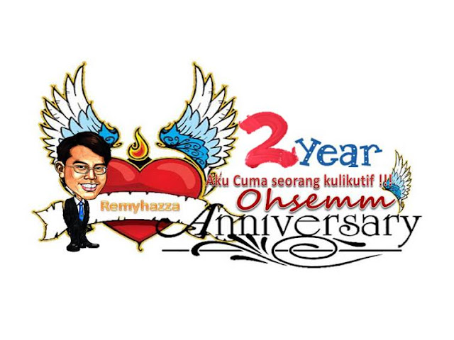 2nd year Ohsem Anniversary Aku cuma seorang kulikutif !!! Give away""