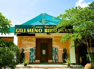 pintu masuk bird park gili meno