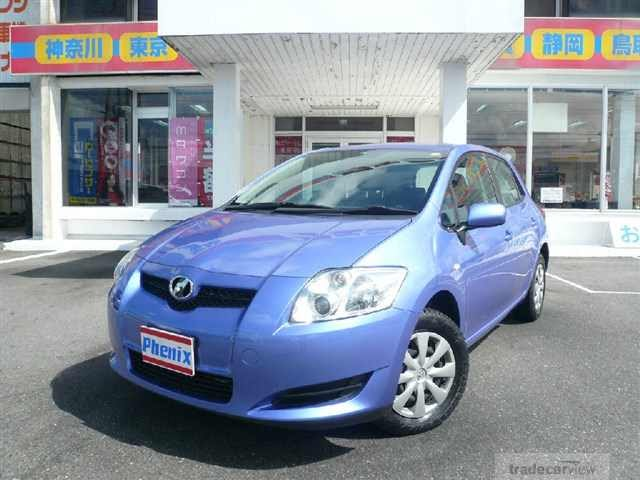abir car selection toyota auris 2009 1500 sky blue. Black Bedroom Furniture Sets. Home Design Ideas