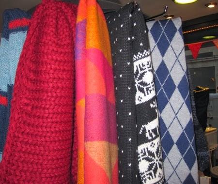Bufandas y cuellos de punto