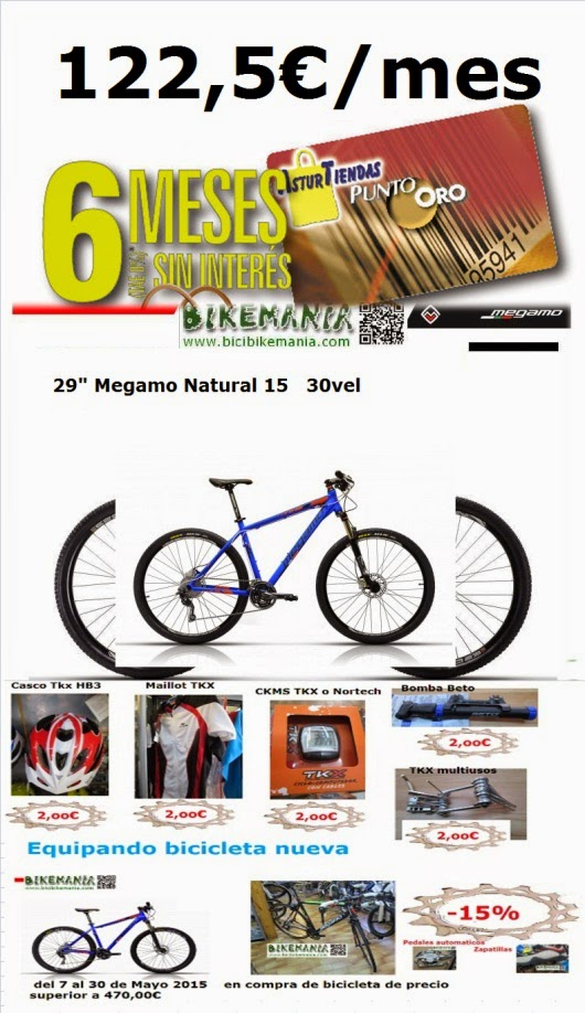 Promocion compra bicicleta