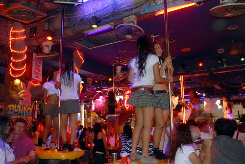 Sex show in Patong - Phukhet, Thailand