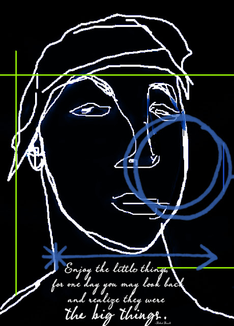 face sketch - Marty Mason