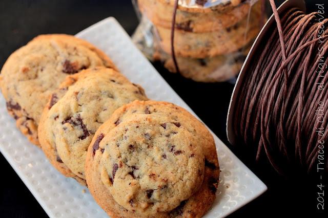 biscotti al cioccolato, chocolate chunky cookies