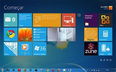 Windows 7 com o Omnimo