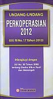 toko buku rahma: buku UU perkoperasioan 2012, penerbit sinar grafika