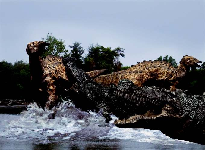 Deinosuchus salah satu hewan purba terbesar di dunia