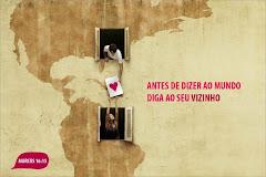 #Revolucione com amor