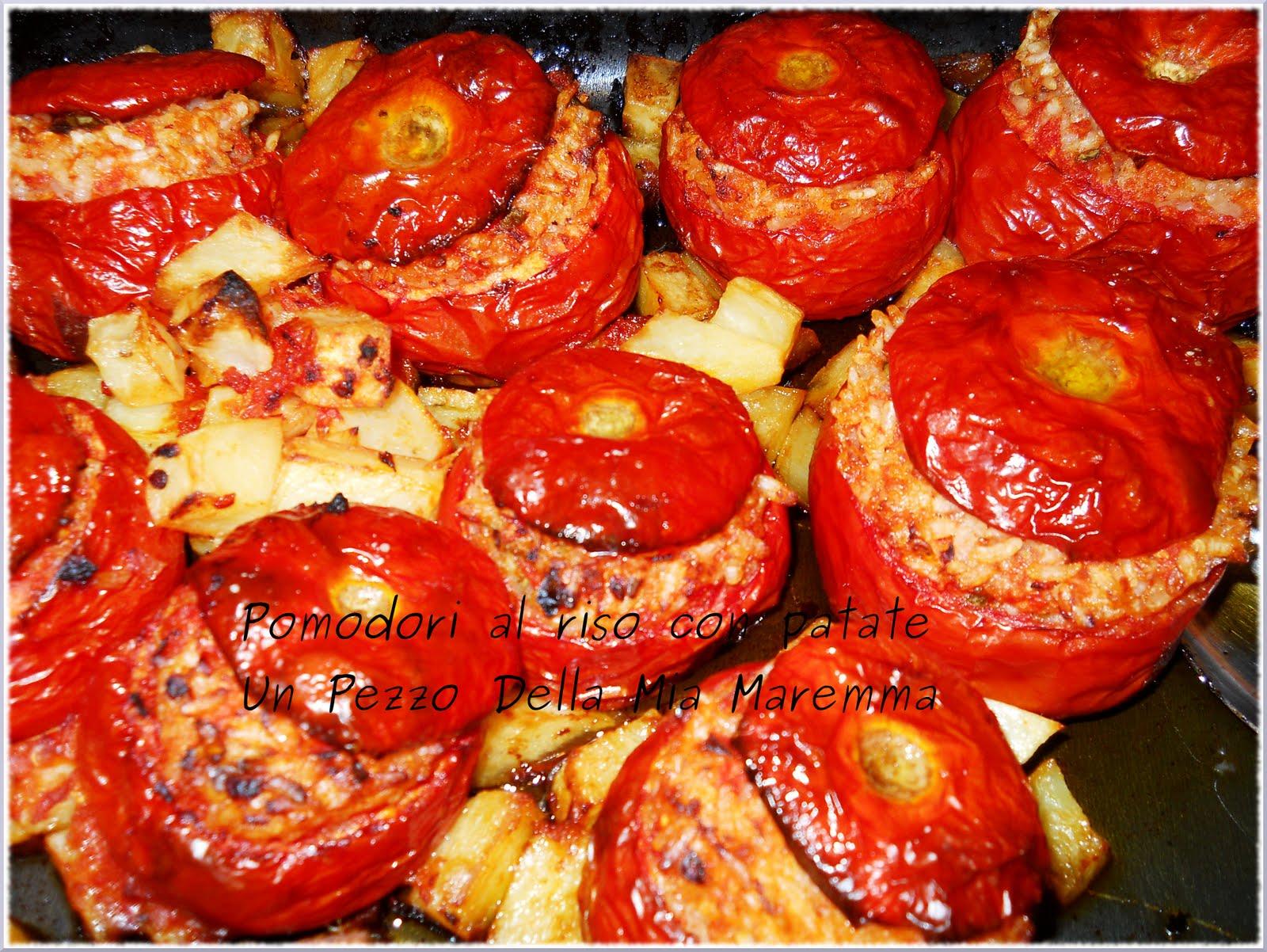 Un pezzo della mia maremma pomodori al riso con patate for Piatto romano