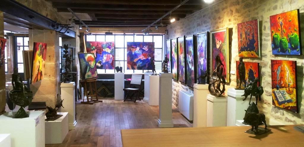 L'ancienne FORGE - Encadrements-Galerie d'Art de TOURNUS