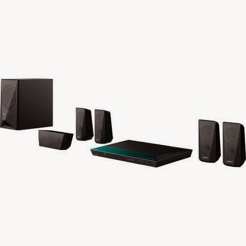 Sony 5.1 Channel 1000 Watts 3D Blu-ray DVD Surround Sound Home Theater System with Full HD 1080p