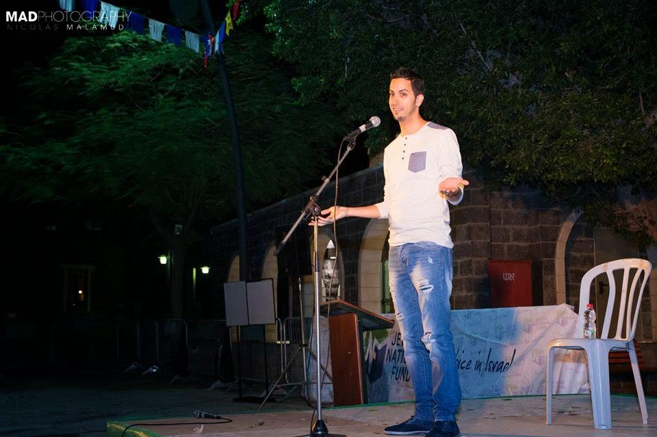 comedian Tamir Buskila