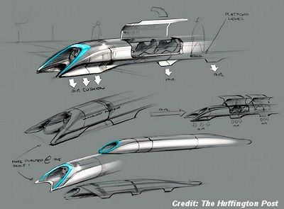 "Secrets of ""Hyperloop,"" a Fifth Mode of Transportation Revealed By Billionaire Elon Musk"