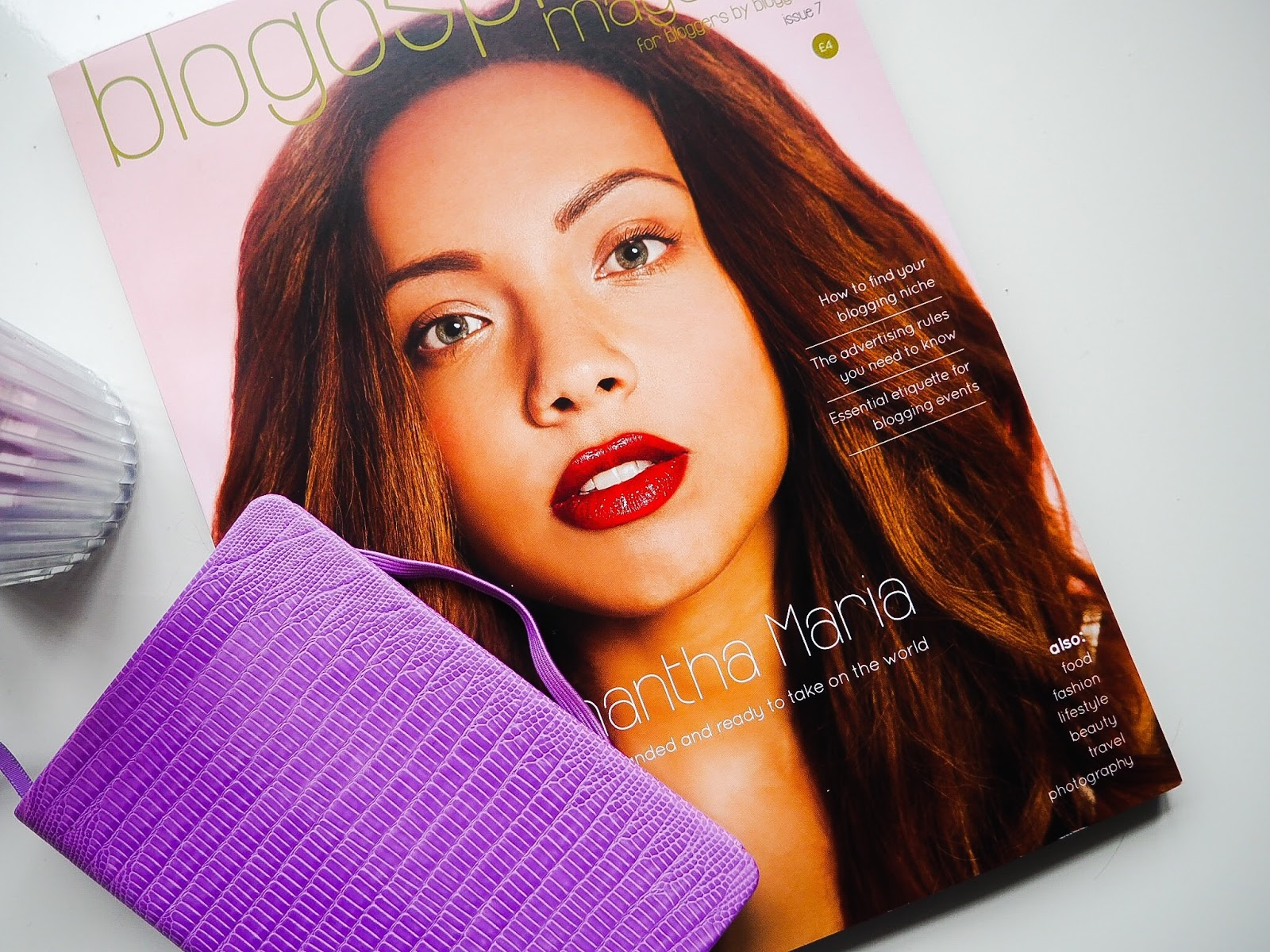 Blogosphere magazine issue 7 blog post samantha maria bloggers