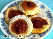 Jahodové koláčiky - recept