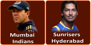 SRH Vs MI is on 1 May 2013.