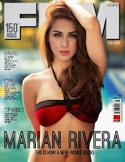 Marian Rivera FHM January 2013 Cover