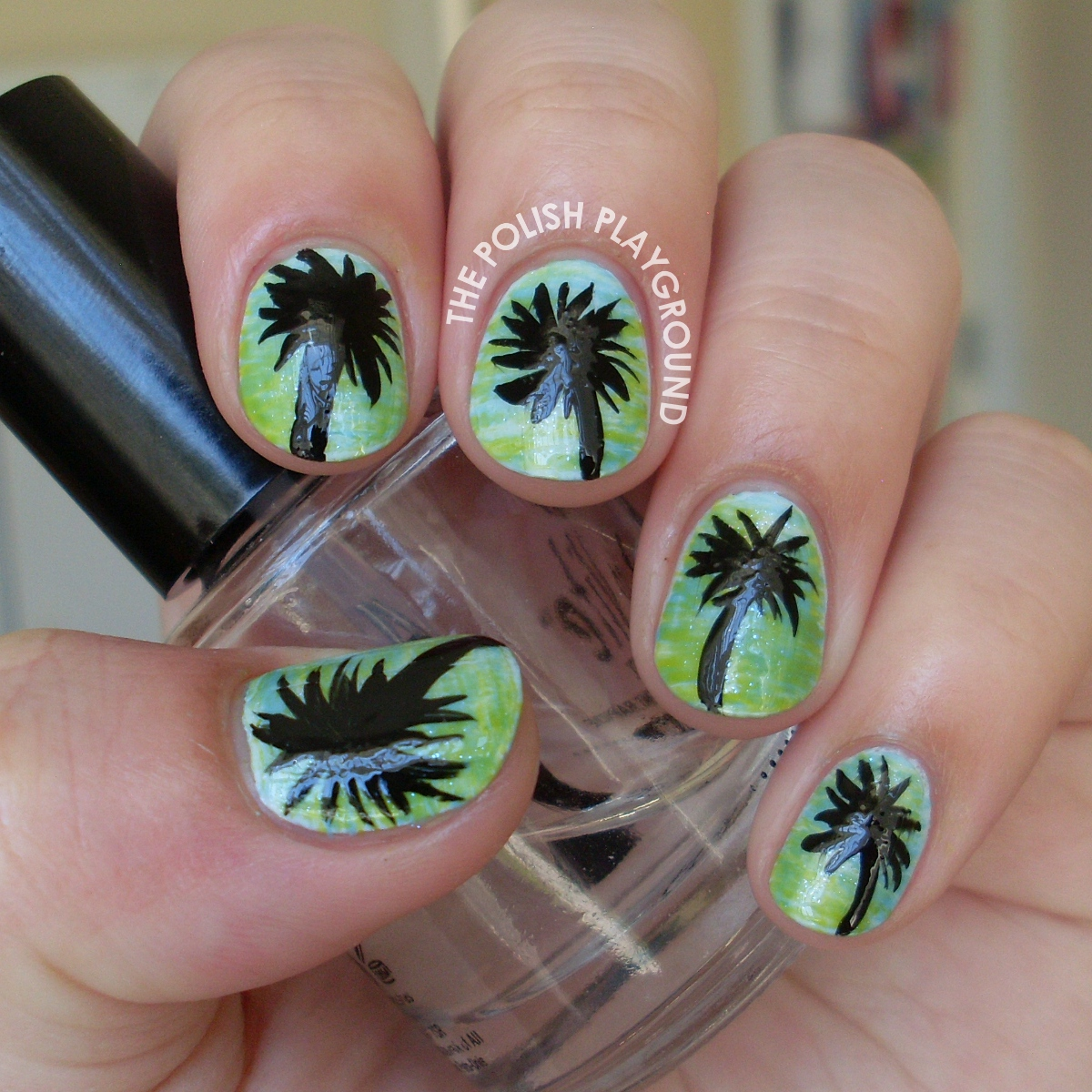 Tropical Paradise Nail Art