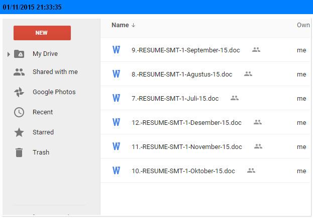 Format Jurnal Mengajar Semester Ganjil SD Kelas 1, 2, 3, 4, 5, 6 Tahun 2015 dengan Microsoft Word (doc)