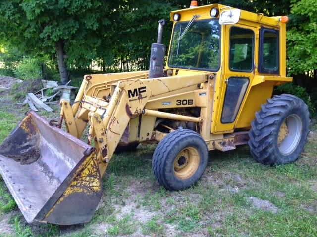 Mf 30b Tractor : Huron county municipal auction