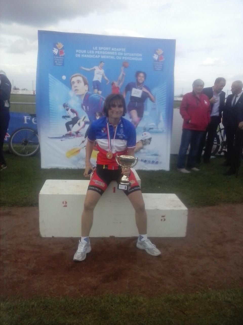 Bravo à Michel et Aurelie, Champion de France dans leur catégorie