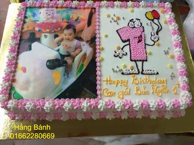 Bánh sinh nhật, bánh in hình là món quà đầy ý nghĩa