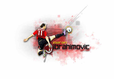 Zlatan Ibrahimovic A.C Milan HQ Wallpapers